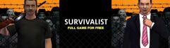 Jogo Survivalist de graça para PC