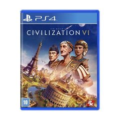 Jogo Sid Meiers Civilization VI para PS4