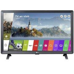 "Smart TV LED LG 24"" Monitor Wi-Fi Webos 3.5 DTV Machine Ready"