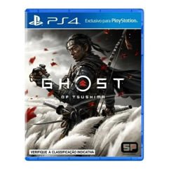 Game Jogo Ghost of Tsushima para PS4