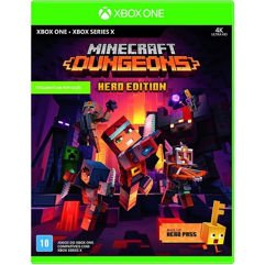 Jogo Minecraft Dungeons - Hero Edition (Inclui Hero Pass) - Xbox One