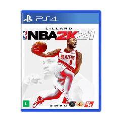 Jogo NBA 2k21 para PS4