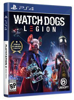Jogo Watch Dogs Legion Edição Padrão - PS4
