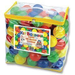 Bolsa com 100 bolinhas para toca ou piscina