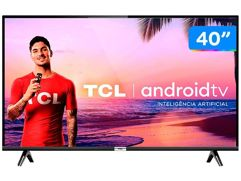 """Smart TV LED 40"""" TCL Full HD Android - Wi-Fi HDR"""