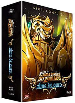 Os Cavaleiros do Zodíaco - Alma de Ouro - Série Completa - DVD