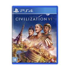 Jogo Sid Meiers Civilization VI - PS4