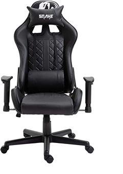 Cadeira Gamer Snake Mamba Negra Preta