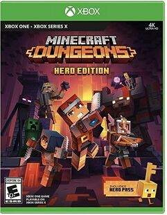Jogo Minecraft Dungeons Hero Edition (Inclui Hero Pass) - Xbox One