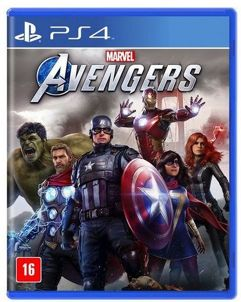 Jogo Marvels Avengers - PS4