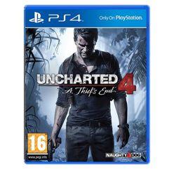 Jogo Uncharted 4: A Thiefs End para PS4