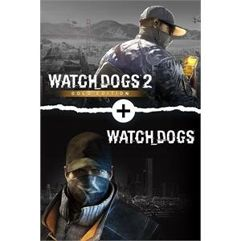 Pacote Watch Dogs 1 + Watch Dogs 2 Gold Editions Bundle - Xbox One