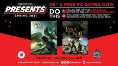 Dois games Tomb Raider de graça para PC
