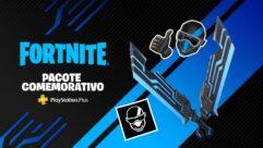 Fortnite — Pacote Comemorativo para assinantes PlayStationPlus