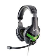 Headset Gamer Harve Warrior PH298 Preto/Verde