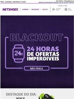 Promoção: Blackout Netshoes