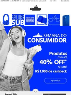 Semana do Consumidor 2021 na Submarino