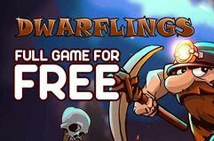 Jogo Dwarflings de graça para PC