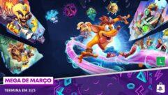 Nova Promoção na PS Store: Mega de Março