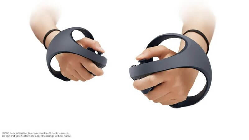 novo controle VR para PS5