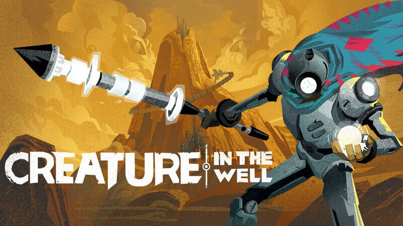 Jogo Creature in the Well de graça na Epic Games