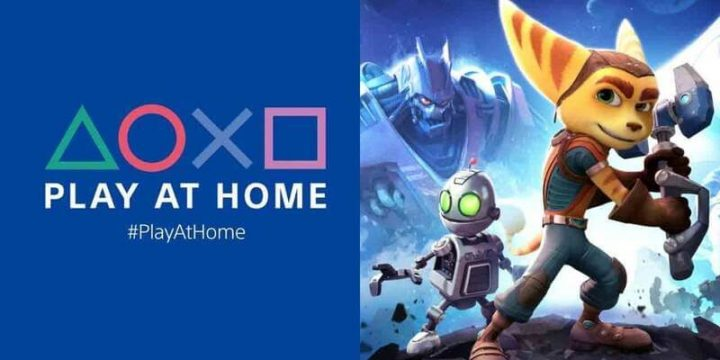 play at home playstation jogos gratis ratchet and clank