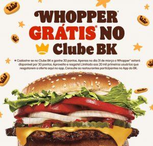 whopper gratis burger king