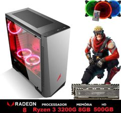 PC Gamer Explose Z6-1 Ryzen 3200G 4.0GHZ Placa de vídeo Radeon VEGA 8