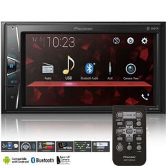 "Central Multimídia Pioneer Bluetooth Touch 6,2"" - Câmera de Ré"