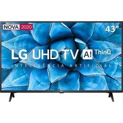 """Smart TV LED 43"""" Ultra HD 4K LG com HDR 10 Pro e HLG Pro e Alexa - 2020"""