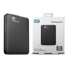 HD Externo 1TB WD Western Digital Elements USB 3.0