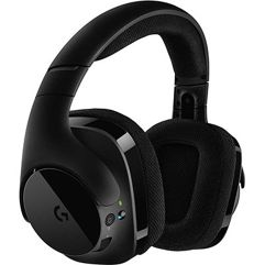 Headset Gamer Sem Fio Logitech G533 7.1 Dolby Surround