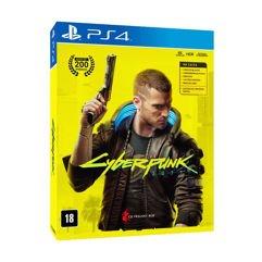 Jogo Cyberpunk 2077 Edição limitada - PS4