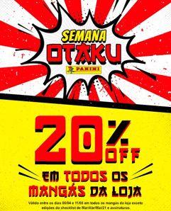 Semana Otaku na Panini: 20% OFF em todos os mangás