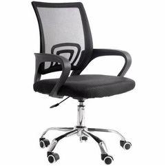 Cadeira de Escritório com Base Cromada - 9050