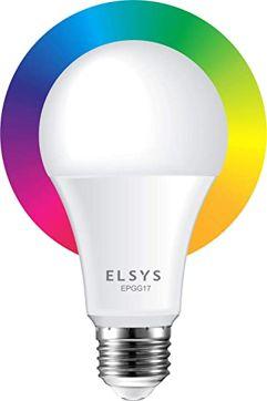Lâmpada Smart Wi-Fi Elsys LED - Compatível com Alexa e Google Assistente