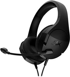 Headset Gamer HyperX Cloud Stinger Core PC HX-HSCSC2-BK/WW, Preto, Pequeno