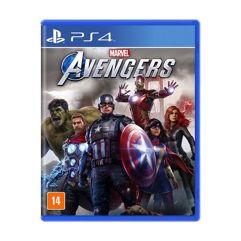 Jogo Marvels Avengers para PS4