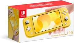 Nintendo Switch Lite - Amarelo