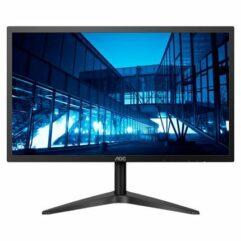 "Monitor LED 21.5"" AOC FULL HD com HDMI e Base Ajustável"