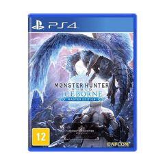 Jogo Monster Hunter World Iceborne - PS4- Mídia Física
