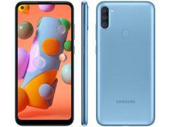 Smartphone Samsung Galaxy A11 64GB - Azul