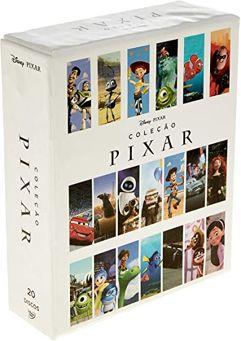 Coleção Pixar 2018 (20 DVDs)