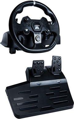 Volante Gamer com Force Feedback e Pedal Warrior- JS090