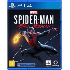 Jogo Marvels Spider-Man: Miles Morales - PS4