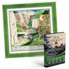 Livro O Hobbit + Pôster - Capa dura