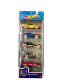 Pacote 5 Carros Sortidos Hot Wheels - Mattel
