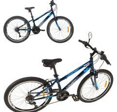 Bicicleta Aro 24 Caloi Max Azul