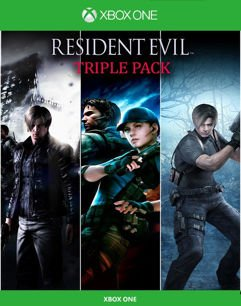 Pacote Triplo Resident Evil - Xbox One