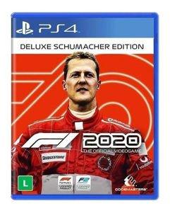 Jogo F1 2020 Edição Deluxe Schumacher - PS4